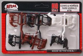 Cows & Horses HO Scale Model Railroad Figure #778