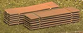 Atlas Mill Lumber -- HO Scale Model Railroad Building Accessory -- #791
