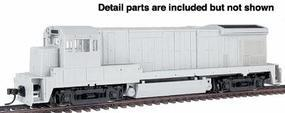 Atlas GE B23-7 Powered - DCC-Ready Undecorated HO Scale Model Train Diesel Locomotive #8000