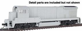 Atlas GE B23-7 Powered - DCC-Ready Undecorated HO Scale Model Train Diesel Locomotive #8002