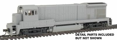 Atlas GE B30-7 - Sound & DCC EquippedSound Undecorated -- HO Scale Model Train Diesel Locomotive -- #8103