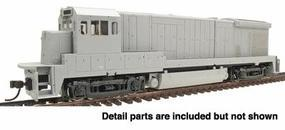 Atlas GE B23-7 - Sound & DCC Equipped - Undecorated HO Scale Model Train Diesel Locomotive #8105