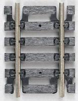 Atlas Straight Snap-Track(R) 1-1/2 Black Ties pkg(4) HO Scale Nickel Silver Model Train Track #825