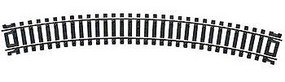 Atlas Code 100 18 Radius N/S (6) HO Scale Nickel Silver Model Train Track #833