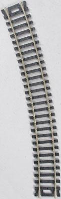 Atlas Code 100 22 Radius N/S (6) -- HO Scale Nickel Silver Model Train Track -- #836