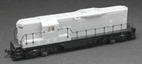 Atlas EMD GP7 - Powered Undecorated HO Scale Model Train Diesel Locomotive #8400