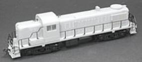 Atlas ALCO RS-3 - Powered - Undecorated HO Scale Model Train Diesel Locomotive #8450