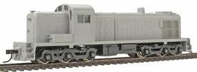 Atlas ALCO RSD-4/5 - Powered - Undecorated HO Scale Model Train Diesel Locomotive #8490