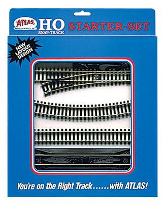 Atlas Code 100 Starter Set N/S HO Scale Nickel Silver Model Train Track #88