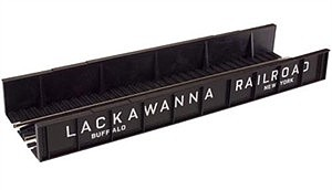 Atlas Code 100 Plate Girder Bridge - Lackawanna (black, white) -- HO Scale Model Railroad Bridge -- #895