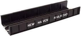 Atlas Code 100 Plate Girder Bridge - New Haven (black, white) HO Scale Model Railroad Bridge #896
