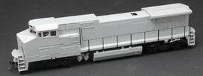 Atlas Dash 8-40BW Undecorated HO Scale Model Train Diesel Locomotive #9051