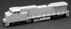 Atlas GE Dash 8-32BHW w/Ditchlights Undecorated HO Scale Model Train Diesel Locomotive #9070