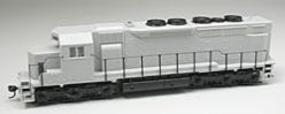 Atlas Silver Series EMD SDP35 w/Low-Nose Undecorated HO Scale Model Train Diesel Locomotive #9280