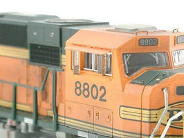 Atlas Modern Locomotive Cab Rear-View Mirrors 4 Each Standard and Small Styles N-Scale