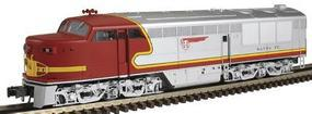 Atlas-O FM Erie-Built A Unit Powered 3-Rail Santa Fe #90L O Scale Model Train Diesel Locomotive #1220