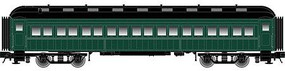 Atlas-O O Trainman 60 Coach, Unlettered (2R)