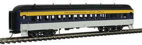 Atlas-O 60 Coach Car 2 Rail Chesapeake & Ohio O Scale Model Train Passenger Car #2001165