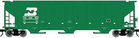 Atlas-O PS-4750 Covered Hopper Burlington Northern O Scale Model Train Freight Car #2001607