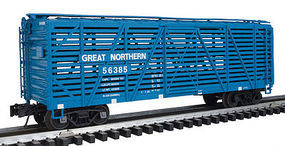 Atlas-O 40 Stock Car 3 Rail Great Northern O Scale Model Train Freight Car #20024001