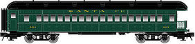 Atlas-O 60 Observation 2-Rail ATSF O Scale Model Train Passenger Car #2002753