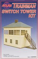 Atlas-O Switch Tower Structure Kit O Scale Model Railroad Building #2009004