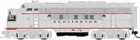Atlas-O EMD F3A Phase II - 2-Rail Undecorated O Scale Model Train Diesel Locomotive #2676