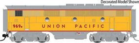 Atlas-O EMD F3B Phase II - 2-Rail Unpowered - Undecorated O Scale Model Train Diesel Locomotive #2678