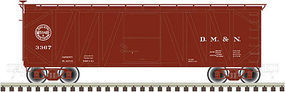 Atlas-O USRA Single-Sheathed Wood Boxcar 2-Rail D,M,&N O Scale Model Train Freight Car #3004106