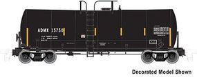 Atlas-O Trinity 17,600-Gallon Corn Syrup Tank Car Undecorated O Scale Model Train Freight Car #3004200