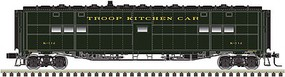 Atlas-O Troop Kitchen - 3-Rail - Ready to Run US Army (Pullman Green) - O-Scale