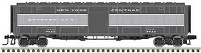 Express Boxcar (Rebuilt Troop Sleeper) - 3-Rail - Ready to Run New York Central (Two-Tone Gray - O-Scale