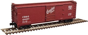 Atlas-O USRA 40 Double Sheathed Wood Boxcar - 2-Rail Ready to Run - Master(R) Chicago, Burlington & Quincy - O-Scale
