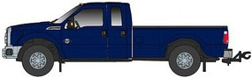 Atlas-O 1-50 Ford F250 XLT w/Super Cab/8ft Bed, Dark Blue
