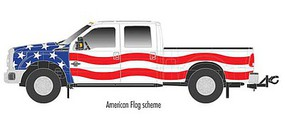 Atlas-O Ford F-250 Pickup Am Flag - O-Scale