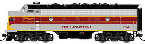 Atlas-O F7A Powered 2-Rail Erie Lackawanna #7121 O Scale Model Train Diesel Locomotive #30124005