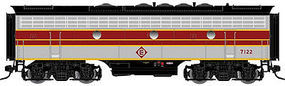 Atlas-O F7B Powered 2-Rail Erie Lackawanna #7113 O Scale Model Train Diesel Locomotive #30124019