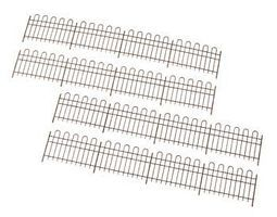 Atlas-O Classic Hairpin-Style Super Flex Fence Kit O Scale Model Railroad Building Accessory #4001005