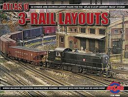 Atlas-O Book Thirty-Six 3-Rail Layouts O-Scale Model Railroading Book #6008