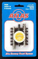 Atlas-O 1-1/4 Straight 3 Rail O Scale Nickel Silver Model Train Track #6015
