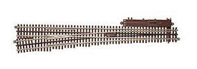 Atlas-O 3 Rail - #7.5 High Speed Lefthand Turnout O Scale Nickel Silver Model Train Track #6021