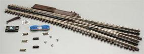 Atlas-O 3 Rail - #5 Turnout Righthand O Scale Nickel Silver Model Train Track #6025