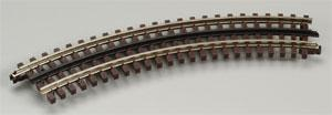 Atlas-O 3 Rail - O27 Full Curved Section O Scale Model Nickel Silver Train Track #6043