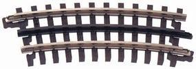 Atlas-O 3-Rail - 027 Half Curved Section O Scale Model Nickel Silver Train Track #6044