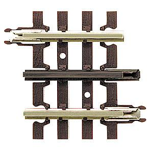 Atlas-O 3-Rail - 1-3/4 Straight O Scale Model Nickel Silver Train Track #6052