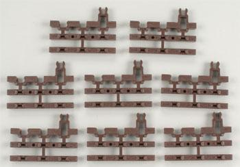 Atlas-O 3-Rail - End Snap Section O Scale Nickel Silver Model Train Track #6057