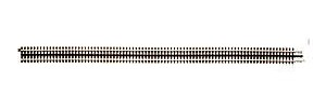 Atlas-O 40 Custom Rigid Straight Track -- O Scale Nickel Silver Model Train Track -- #6058
