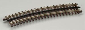 Atlas-O O-54 Full Curve 3-Rail Track NS O Scale Nickel Silver Model Train Track #6060