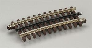 Atlas-O 3-Rail - O72 Half Curved Section -- O Scale Nickel Silver Model Train Track -- #6063