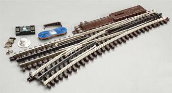 Atlas-O O-72 Remote Switch NS Left O Scale Nickel Silver Model Train Track #6072